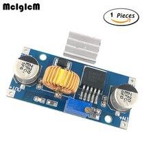 MCIGICM 50pcs DC to DC 4V-38V to 1.25V-36V 5A Step Down Power Supply Buck Module 24V 12V 9V 5V