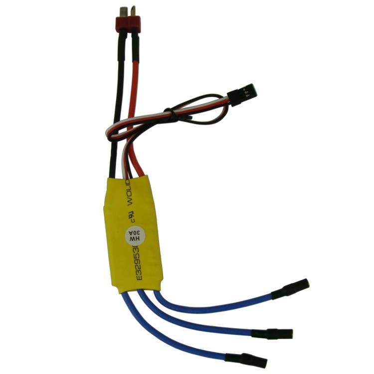 2 UNIDS 30A Regulador de Velocidad del Motor sin Escobillas RC ESC - Juguetes con control remoto - foto 2