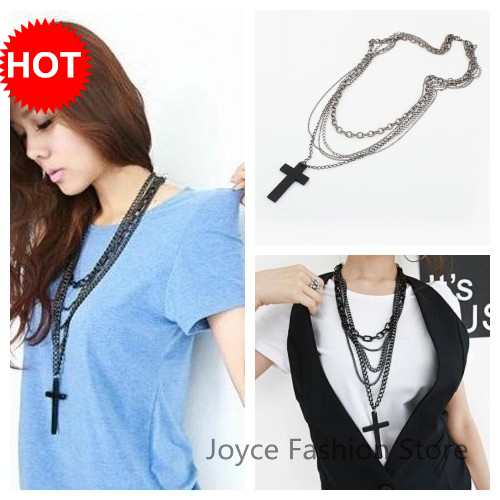 New Statement Necklace 2015 hot ,Vintage Retro Religious Charms Cross Pendant Necklaces,Accessories For Woman,N78