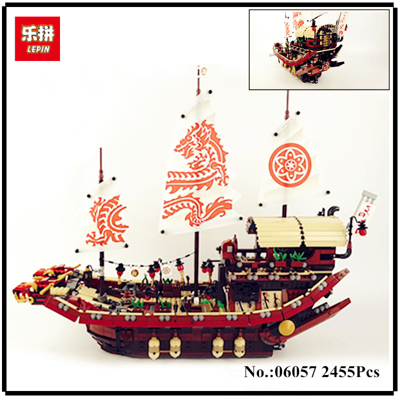 Здесь продается  In Stock LEPIN Ninja 06057 2455pcs Final Fight of Destiny