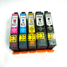 einkshop 178 xl Compatible Ink Cartridge Replacement For HP 178xl photosmart 5510 6510 5520 5515 B110a B209a B210a 3520 3070A 178 xl ink cartridge with new chip for hp photosmart 5510 5520 6510 6520 7520 3070a 3520 4610 4620 ink jet printer for hp 178