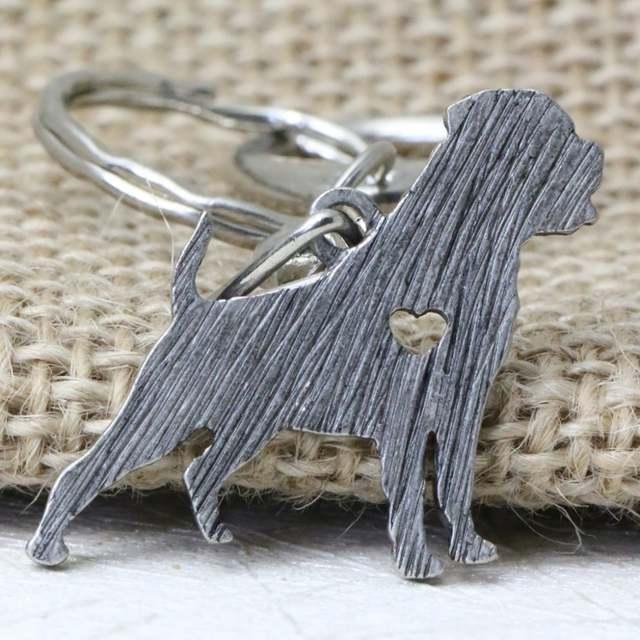 Online Shop Tkuamigo Cute Metal Rottweiler KeyChain Pet Dog Key Chain  Animal Shape Chain Keychains For Pet Lover Car Gift  abdec40ab