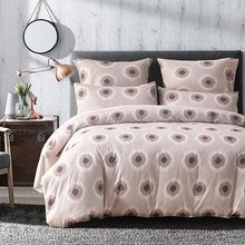 Dots Bedding Sets 2-3pcs/lot Polyester Duvet Cover Sets UK Single Double King Size Bed Use XF518(China)