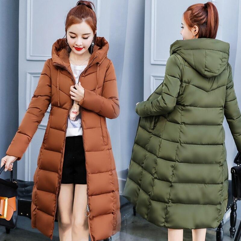 -30 Grad Winter Jacke Frauen X-lange Parka Schlank Mantel Frauen Casual Parkas Mujer 2018 Plus Größe Mit Kapuze Mantel Schnee Outwear Jacke Strukturelle Behinderungen