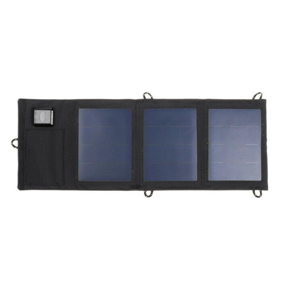 20W double panneau solaire USB panneau de batterie externe pliable Camping randonnée chargeur de téléphone chargeur panneau d'alimentation
