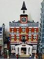 LEPIN 15003 Nuevo 2859 Unids Creadores El ayuntamiento Kits de Edificio Modelo Bloques Kid Juguete de Regalo Compatible Con Legeod minis