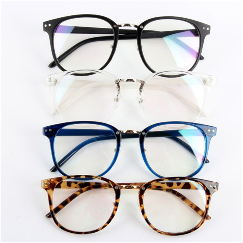 Unisex Fashion Tide Optical Glasses Round Frame Eyewear Eyeglasses Transparent Glass LT5