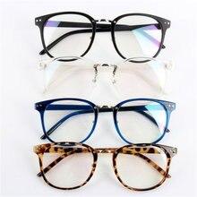 Unisex Fashion Tide Optical Glasses Round Frame Eyewear Eyeglasses Transparent Glass LT5