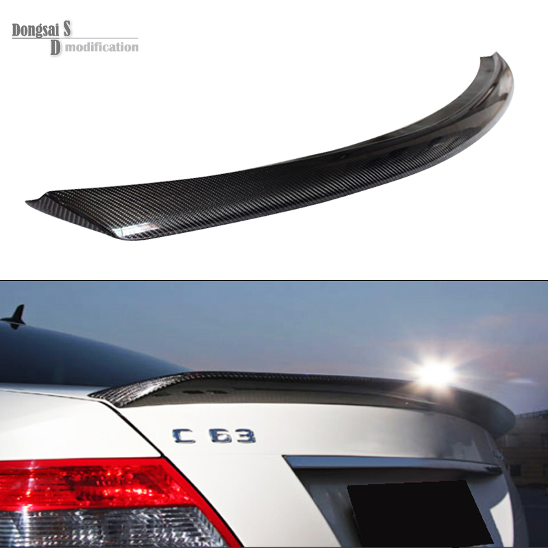 Mercedes C class w204 carbon fiber veath style rear spoiler trunk lid for benc C class 4-door vehicle C180 C200 C260 C300 mercedes carbon fiber trunk amg style spoiler fit for benz e class w207 2 door 2010 2015 coupe convertible vehicles