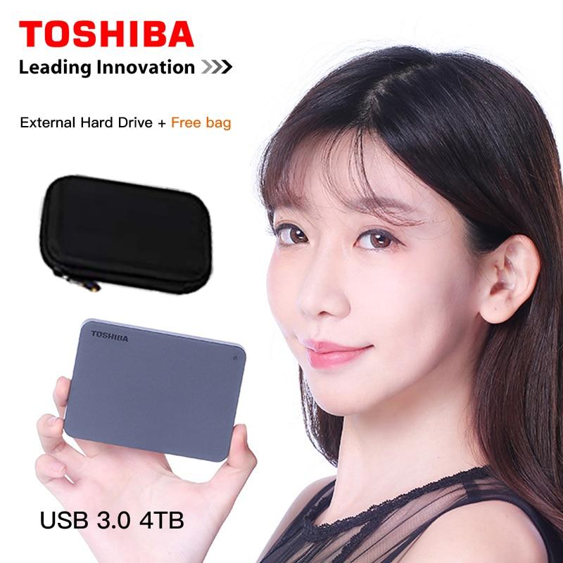 Toshiba canvio noções básicas 4 tb hd externo disco rígido externo portátil usb 3.0 preto para windows mac os disco duro externo 4000 gb