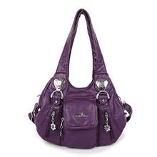 Women Casual high quality PU Leather Durable Hobo Bag  Satchel Design Female Leisure Large Shoulder Bags Lady Shopping Handbag цены