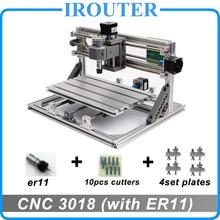 CNC3018 withER11, diy mini cnc grawerowanie, grawerowanie laserowe, Pcb Frezarka PCV, drewno router, cnc 3018, najlepszy Zaawansowane zabawki