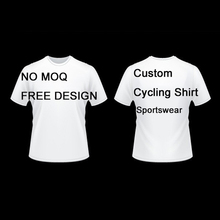 Factory Direct Short Sleeve Sportswear T-Shirt No MOQ Custom Sublimation Quick Dry Breathable Running Cycling T Shirt