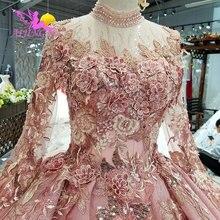 Aijingyu magro vestido de casamento vestidos antigos gordura quente holanda preço real vestido festa do vintage inspinew vestidos de casamento