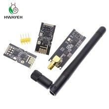 1 conjuntos promoções especiais 2.4g módulos sem fio 1100 metros de longa distância nrf24l01 + pa + lna módulos sem fio (com antena)