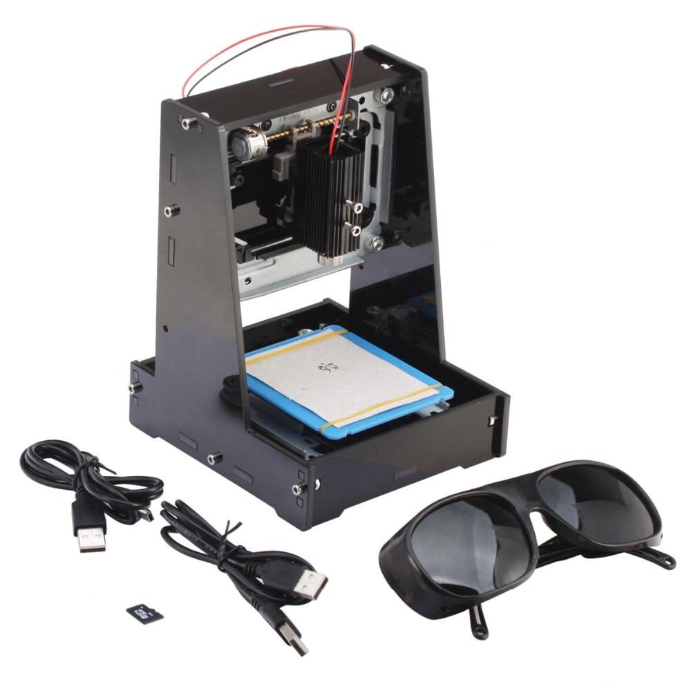 Laser Engraver NEJE JZ 5 500mW DIY USB Mini Laser Engraver Machine Frame Weak Light Automatic