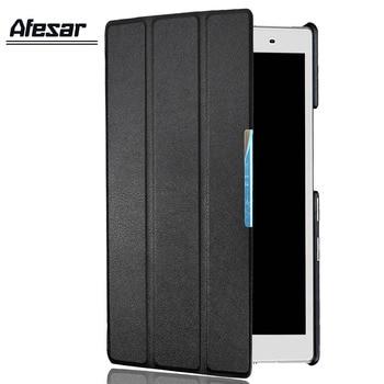 Afesar, funda de piel sintética para Lenovo tab4 tab 4, 8 pulgadas, Funda tipo libro para tableta, TB-8504F 8504N, película protectora de pantalla, soporte 8504X