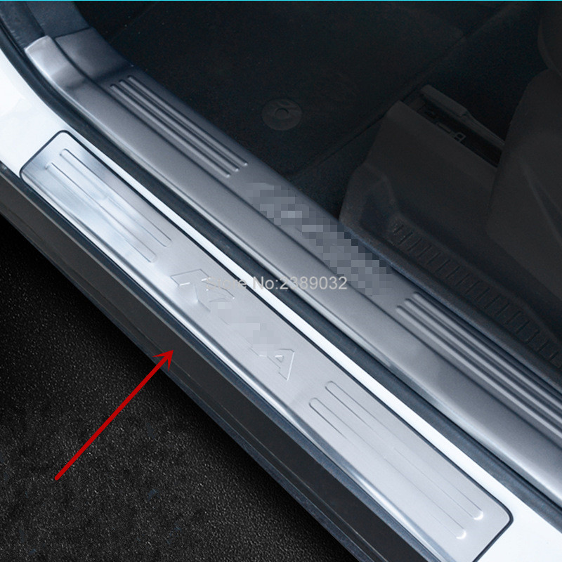4pcs Door Sill Scuff Plate Threshold Pad Tread Plate Welcome Pedal Compatible Cars for Ford Kuga & Online Get Cheap Door Sill -Aliexpress.com | Alibaba Group Pezcame.Com