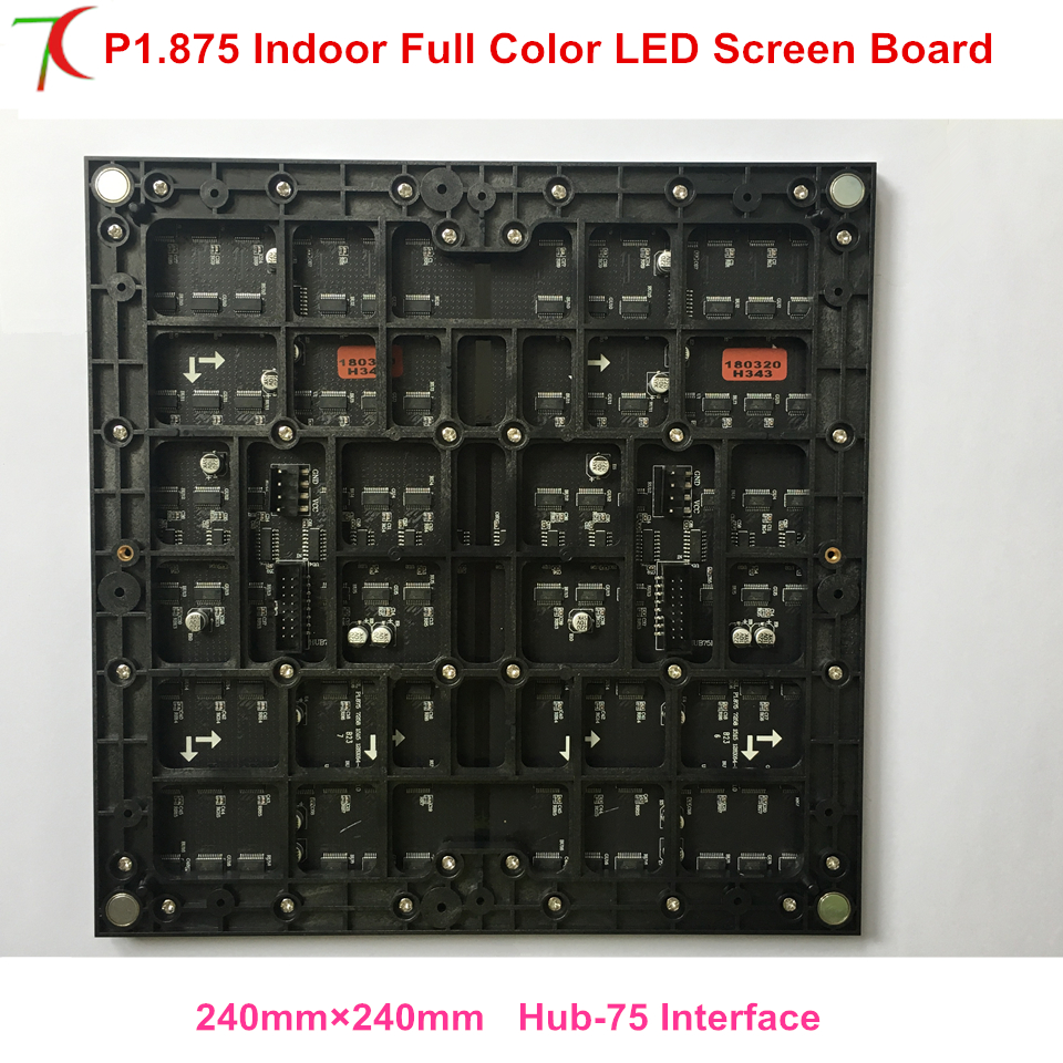 P1.875 indoor hub-75 interface full color led modules for high definition led display video wallP1.875 indoor hub-75 interface full color led modules for high definition led display video wall