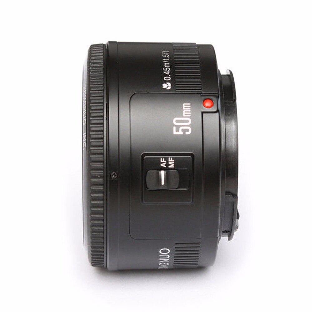 Objectif YONGNUO YN EF 50mm f/1.8 AF à ouverture automatique objectif YN50mm f1.8 pour appareils photo reflex numériques Canon EOS - 2
