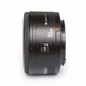 Image 4 - YONGNUO YN EF 50mm f/1.8 soczewki AF przysłony automatyczne ustawianie ostrości YN50mm f1.8 obiektyw do modeli Canon EOS lustrzanki cyfrowe