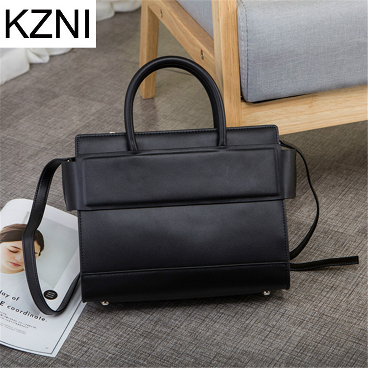 KZNI messenger bag woman bags 2017 bag handbag fashion handbags genuine leather bags bolsa feminina de marca famosa L030923 kzni genuine leather purses and handbags bags for women 2017 phone bag day clutches high quality pochette bolsa feminina 9043
