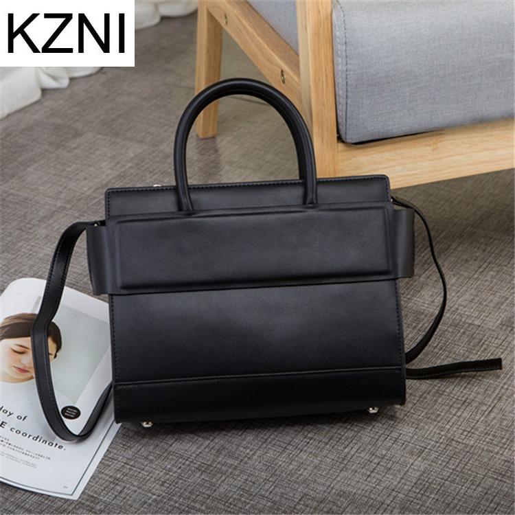 KZNI messenger bag woman bags 2017 bag handbag fashion handbags genuine leather bags bolsa feminina de marca famosa L030923 delta dl 7029b page 4