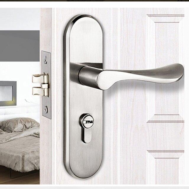 Modern Door Lock Hardware aliexpress : buy 3516 golden color modern style door lock
