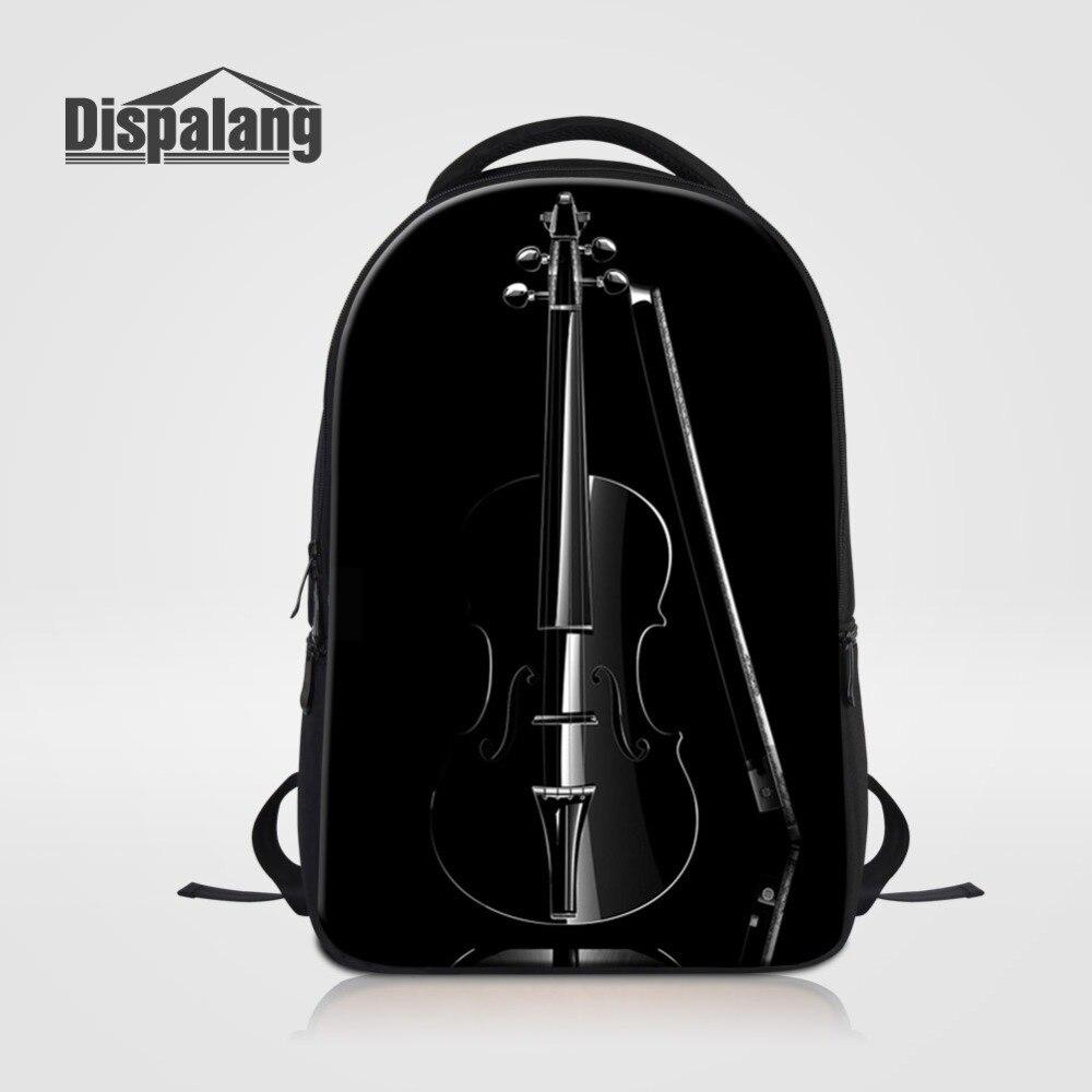 Cool Black School Backpack For Laptop Large Capacity Bookbag For Teenage Girls Boys Mens Business Bagpack Hip Hop Rucksack Pack