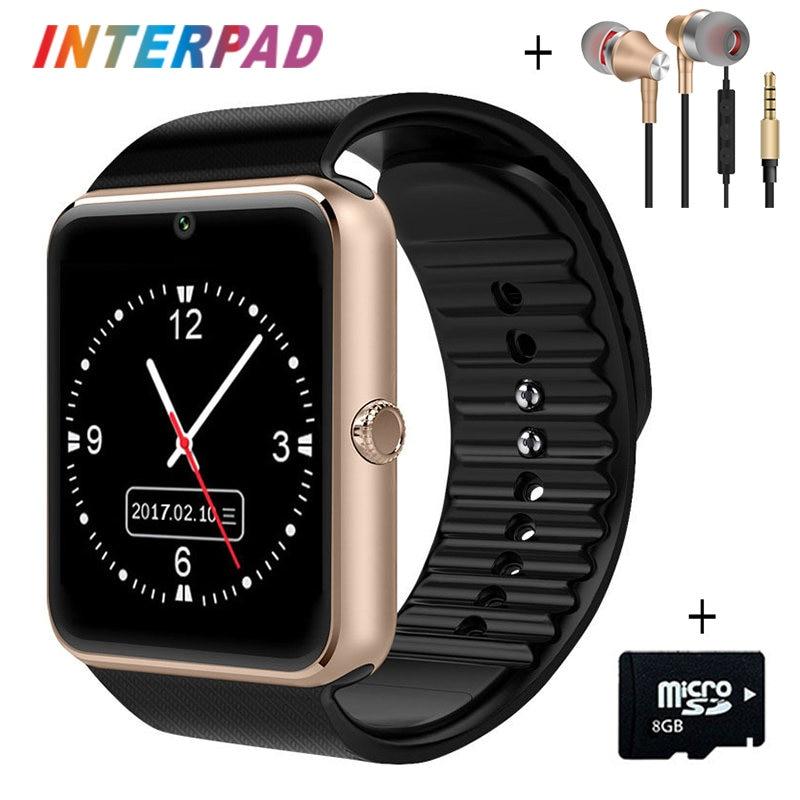 Bluetooth Smart Watch GT08 Clock Hours Smartwatch With Sim TF Card Camera For Samsung Huawei Xiaomi LG HTC Sony PK A1 DZ09 U8