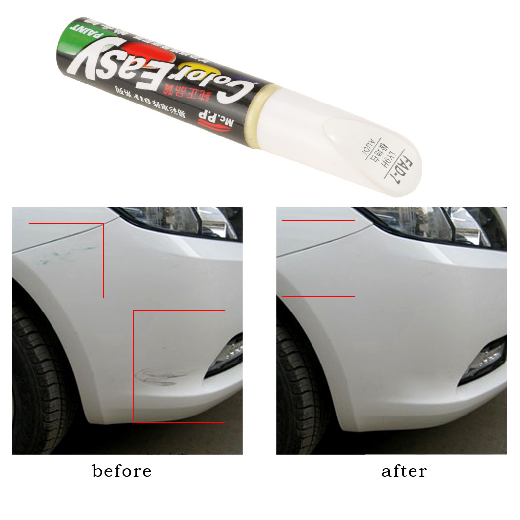 2016 Fashion Car Scratch Remover Paint Touch Up Repair Pen Fad7 Polar White Ly9h For Audi A4 A6 A8 Free Shipping 68 In Cleaner From Automobiles