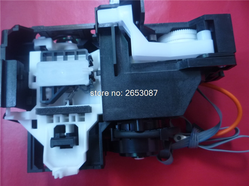 100% New and original ink pump assembly for EPSON T1100 T1110 B1100 ME1100 L1300 INK SYSTEM ASSY PUMP ASSEMBLY CAPPING UNIT kiind of new blue women s xl geometric printed sheer cropped blouse $49 016