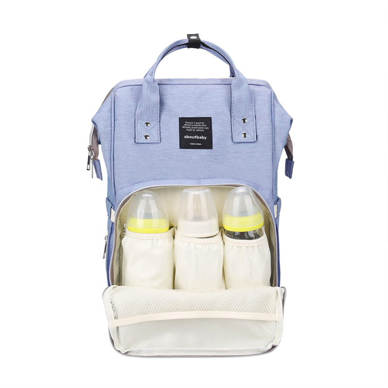 New Diaper Mummy Bag Multi-function Large Capacity Waterproof Shoulder Out Backpack Nappy Bags Mother-infant package