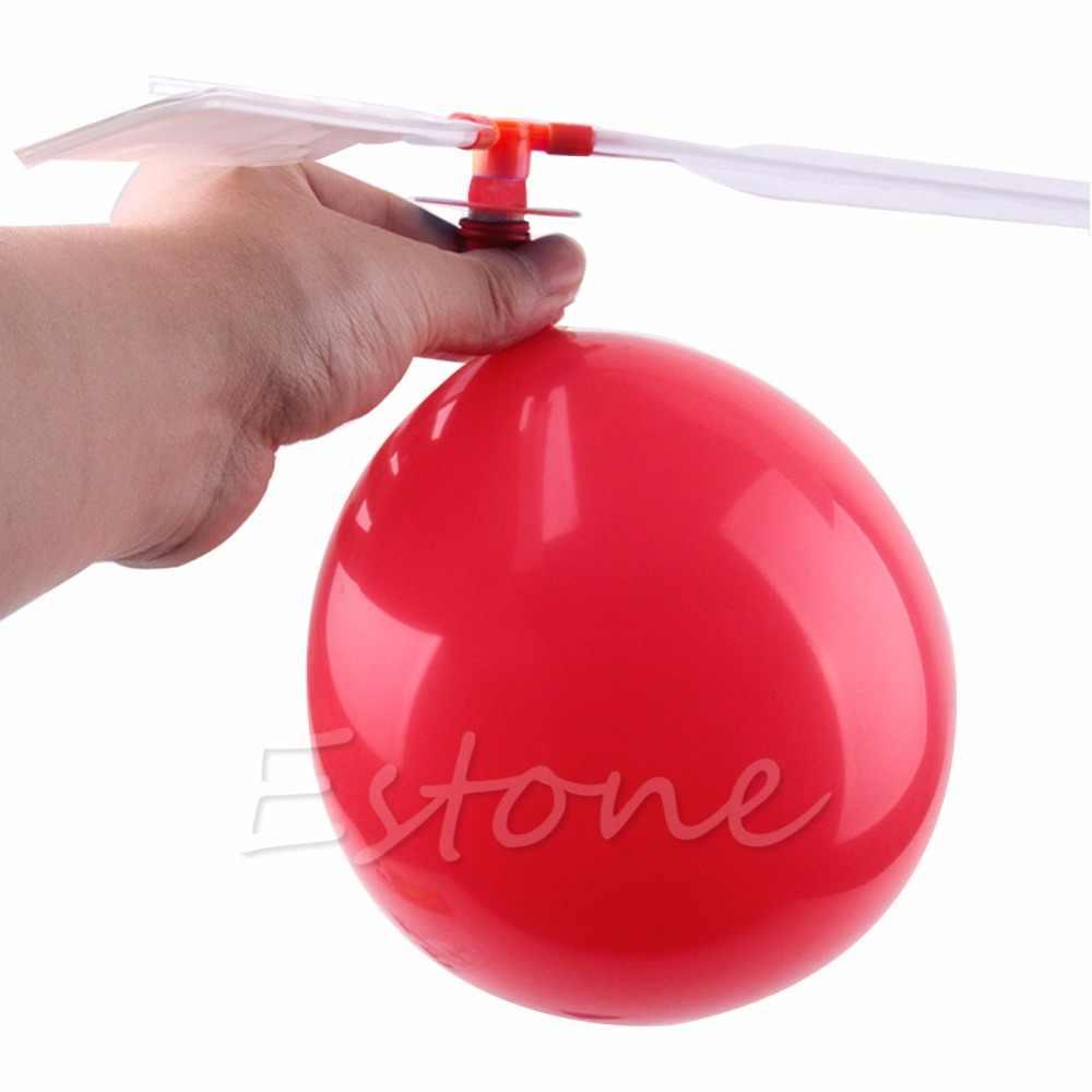 جديد لطيف 1 قطعة التقليدية الكلاسيكية بالون هليكوبتر الاطفال الطفل الأطفال اللعب تحلق لعبة هدية