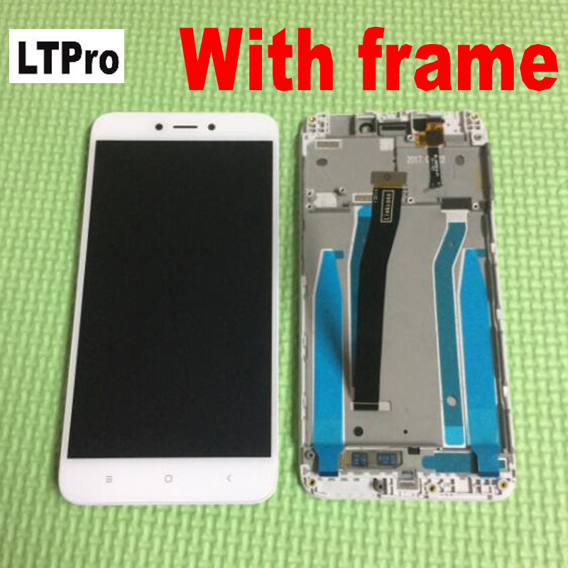 LTPro Redmi4X LCD Display Touch Screen Digitizer Assembly Replacement With Frame For Xiaomi Redmi 4X Parts Sensor
