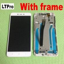 LTPro Redmi4X شاشة الكريستال السائل مجموعة المحولات الرقمية لشاشة تعمل بلمس استبدال مع الإطار ل Xiaomi Redmi 4X أجزاء الاستشعار
