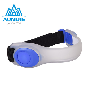 a7d870248091 La seguridad de la noche LED corriendo brazalete reflectante cinturón de  luz correa de brazo deporte