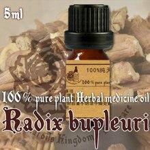 100% pure plant Herbal medicine oils RADIX BUPLEURI herbal oil 5ml Essential oils traditional Chinese Bupleurum chinensis