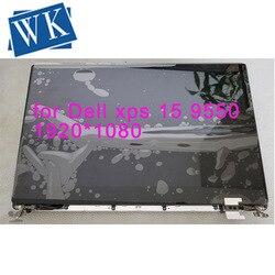 Per Dell XPS 15 9550 9560 3840*2160 4K e 1920*1080 15.6 Dello Schermo di Tocco LED display LCD Completo di Montaggio