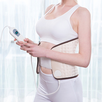 Bellavie Electric Heating Pads waist wrap for Back Abdominal Arthritic Stomach and Menstrual Cramps Pain Relief(220V EU Plug)