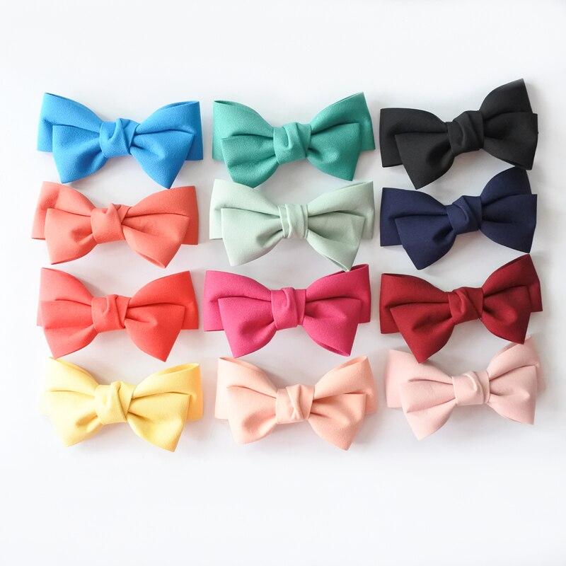 Сплошной Цвет Бутик Заколки Для Волос - Аксессуары для одежды - Фотография 6