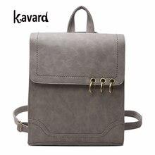 Kavard рюкзак Дамские туфли из PU искусственной кожи рюкзак путешествия 2017 пакета(ов) для школы для девочек Vintage Школьные Сумки sac DOS Femme