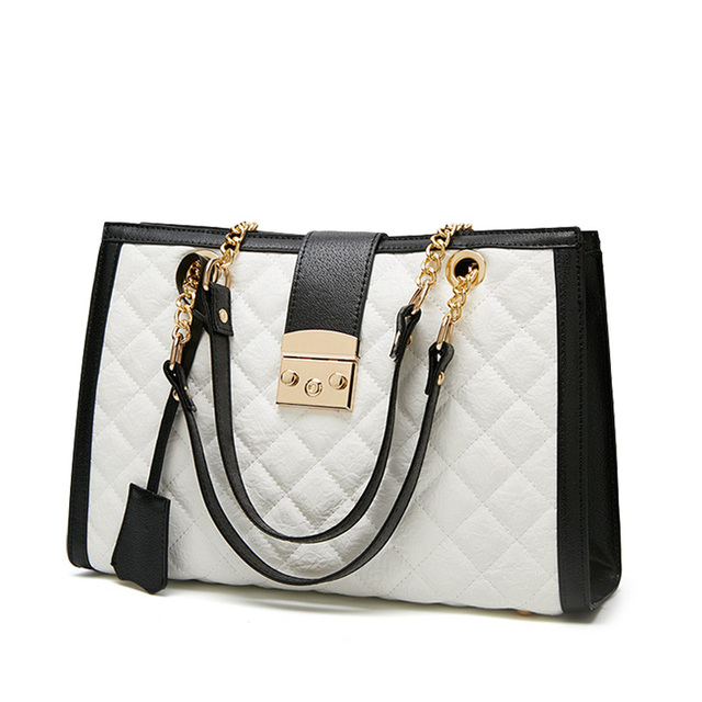 Fashion Women leather shoulder bag 2019 Women shoulder bag Large Tote Women's handbag PU Leather ladies hand bag female bag