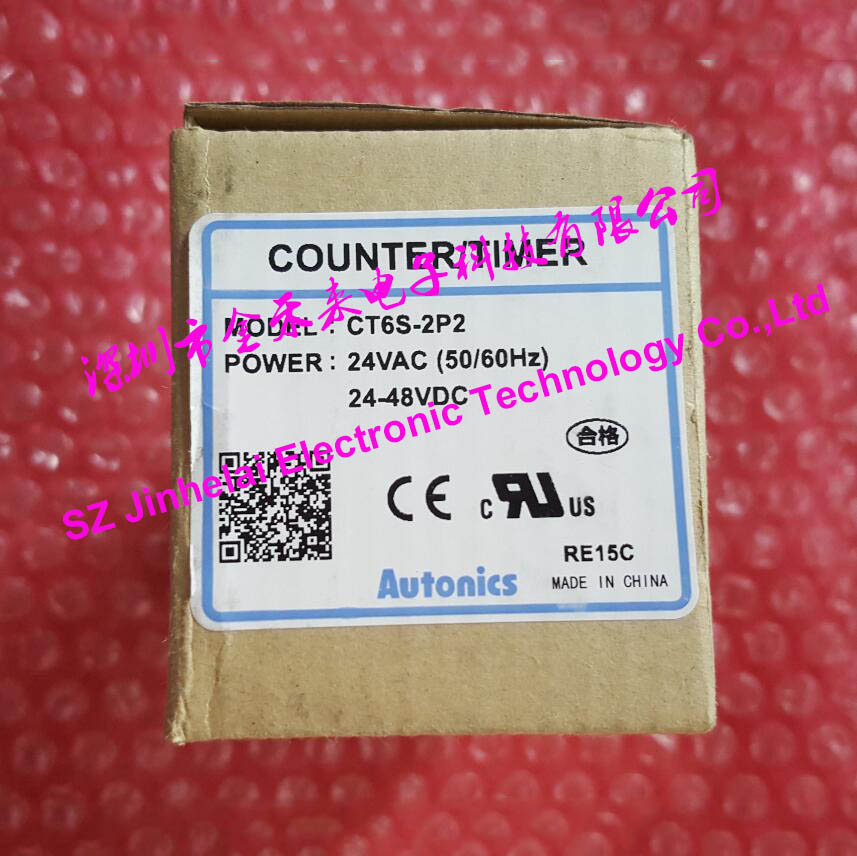 100% Authentic original CT6S 2P2(CT6S 2P) Autonics Count relay,COUNTER/TIMER
