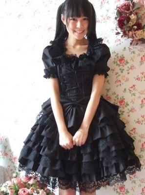 My Fetish Store LL19 Long Sleeveless Sweet Lolita Short Dress Ball Gown Fancy Prom Dress Halloween Party Masquerade Costume