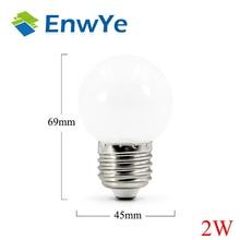 EnwYe LED Bulb Lamp E27 3W 6W 9W 12W 15W 220V Smart IC Real Power Cold White/Warm White Lampada Ampoule Bombilla LED