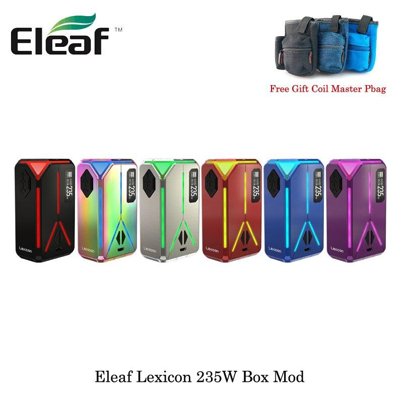 E-Sigarette Lexicon TC Box MOD Max 235 w Sigarette Elettroniche Lexicon Box Mod Vape Vaporizzatore Da Dual 18650 batteria VS ijust 3