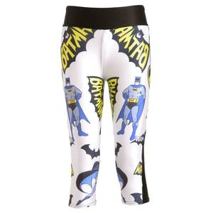 397aabfac6a2f 6 Patterns Active Batman White Fitness Running Pants Black Red Blue
