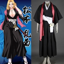 Bleach Matsumoto Rangiku Cosplay Costume