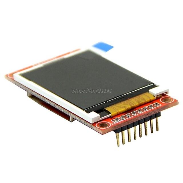 "1.8 ""Serial 128X160 SPI TFT LCD Display + Modulo PCB Adattatore di Alimentazione IC Socket SD"